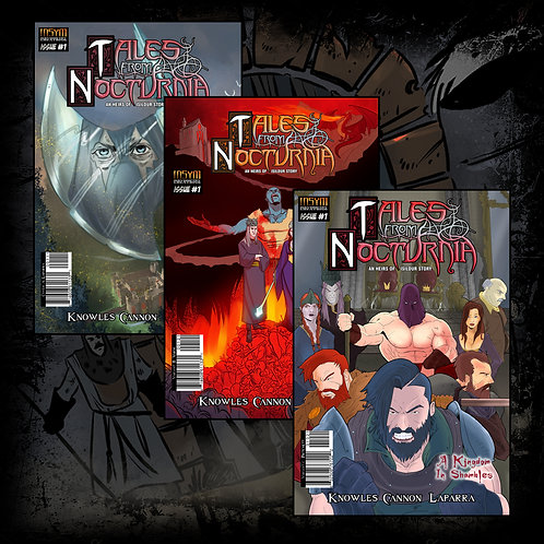 TALES FROM NOCTURNIA (Bundle): Issue #1 Covers ABC Collectors Pack)