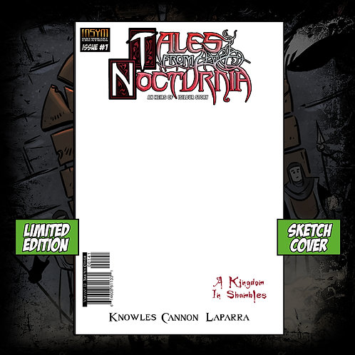 TALES FROM NOCTURNIA: Issue #1 (Limited Edition SKETCH Cover)