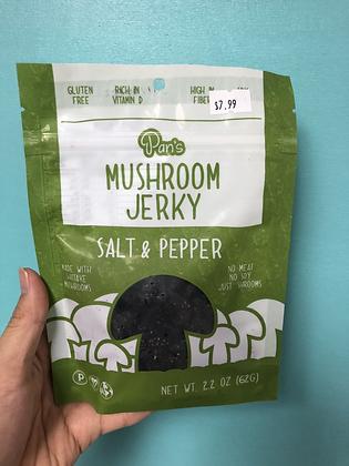 Pan's Mushroom Jerky - Salt & Pepper