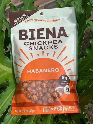 Biena Chickpea snacks Habanero