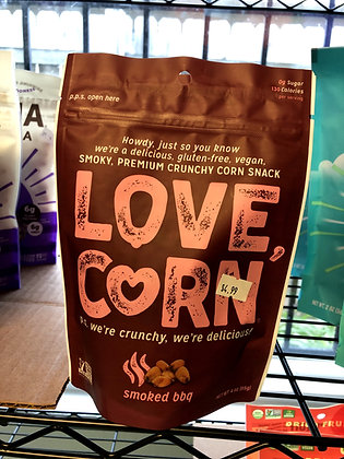 Love Corn Cornnuts Smoked BBQ