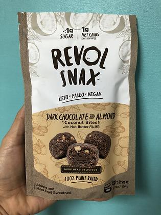 Revol Snax - Dark Chocolate Almond Butter