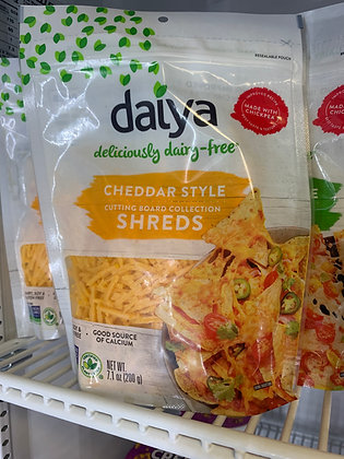 Daiya Cheddar shreds