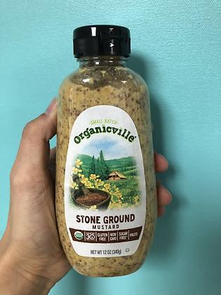 Organicville Stone Ground Mustard
