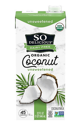So Delicious Coconut milk unsweetened