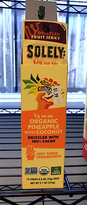 Solely Fruit Jerky - Organic Pineapple with Coconut