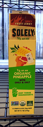 Solely Fruit Jerky - Organic Pineapple with Chili & Salt