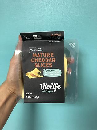 Violife Mature Cheddar Slices