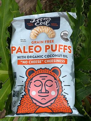 "Lesser Evil Paleo Puffs ""No Cheese"" Cheesiness"