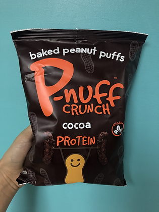P-nuff Baked Peanut Puffs - Cocoa