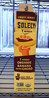 Solely Organic Banana with Cacao