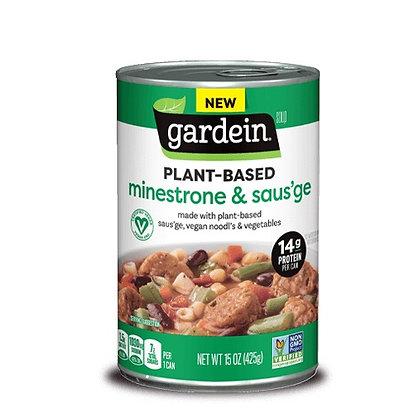 Gardein Minestrone and Saus'ge