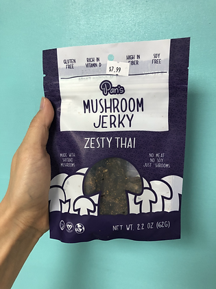 Pan's Mushroom Jerky - Zesty Thai