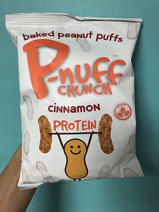 P-nuff Baked Peanut Puffs - Cinnamon