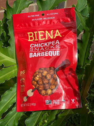 Biena Chickpea snacks BBQ