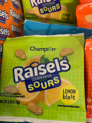 Raisel's Sours Lemon Blast .7oz