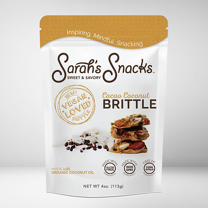 Sarah's Snacks Cacao Coconut Brittle