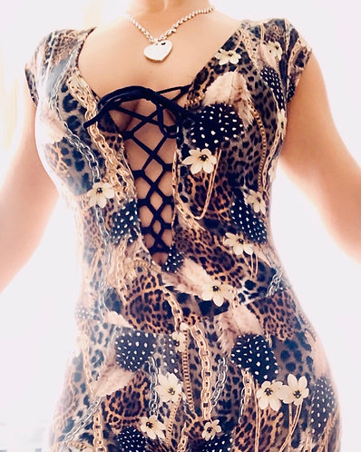"""""""String New Style"""" Bodysuit -without cup - one size"""