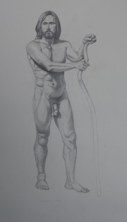 Man with Staff