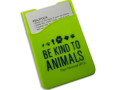 Be Kind to Animals Cell Phone Wallet