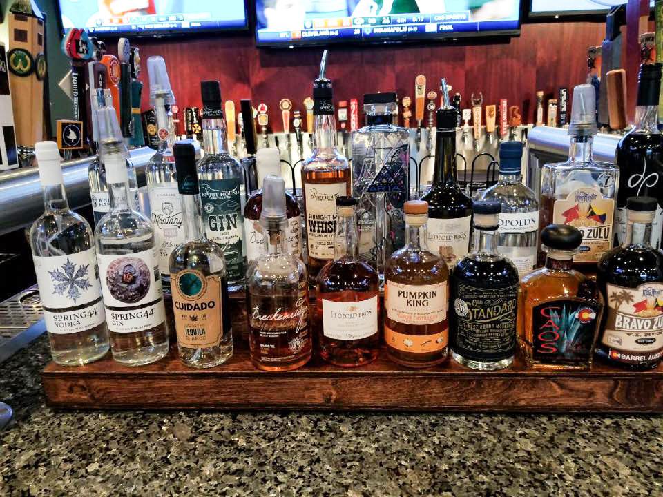 Broomfield Bar with Colorado Distilled Spirits