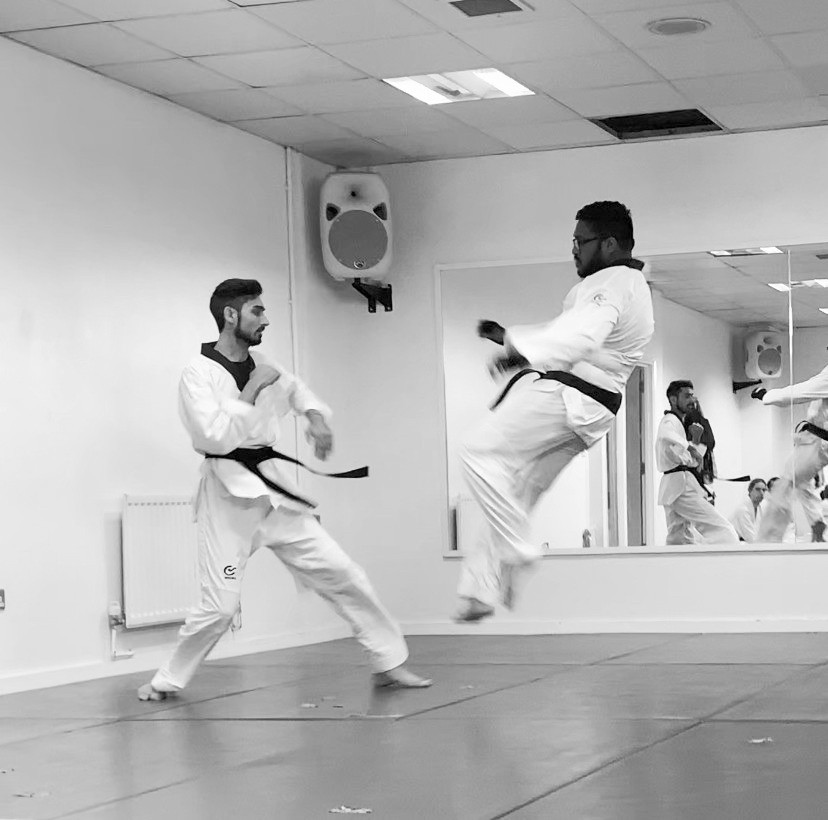 I was able to Fl y High through consistently training as a kid in Martial Arts and Taekwondo.