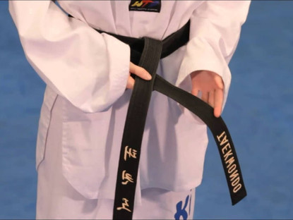 The True Journey Begins AFTER Achieving The Black Belt