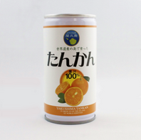たんかんジュース缶