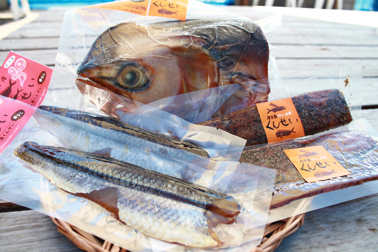 けい水産の地魚生ハム風燻製