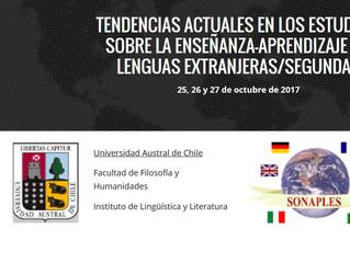 XX Encuentro de SONAPLES 2da Circular y Página Web
