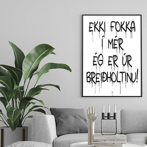 Breiðholt Pride Plakat / Poster