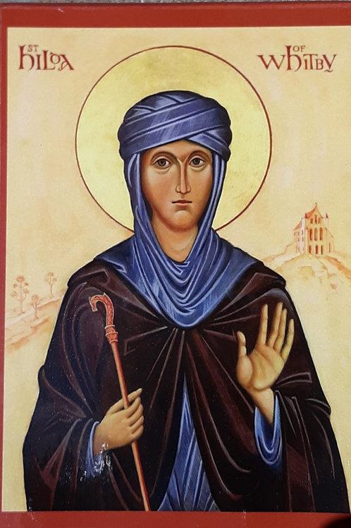 Saint Hilda of Whitby Icon