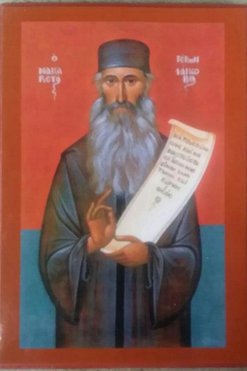 religious icon of Eastern Orthodox Elder Iakovos