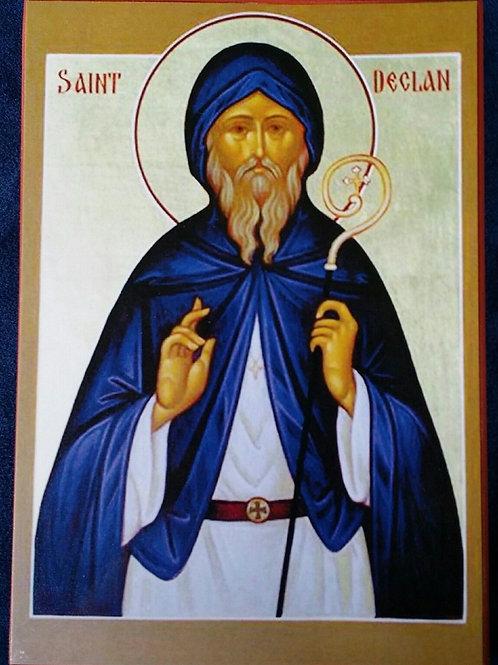 Saint Declan Icon