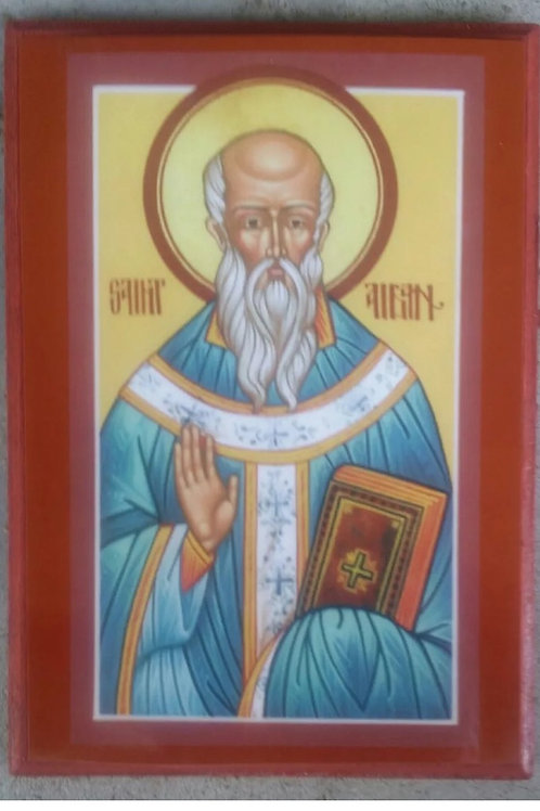 St. Aidan Icon