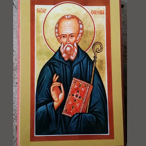 Icon of Saint Columba of Iona