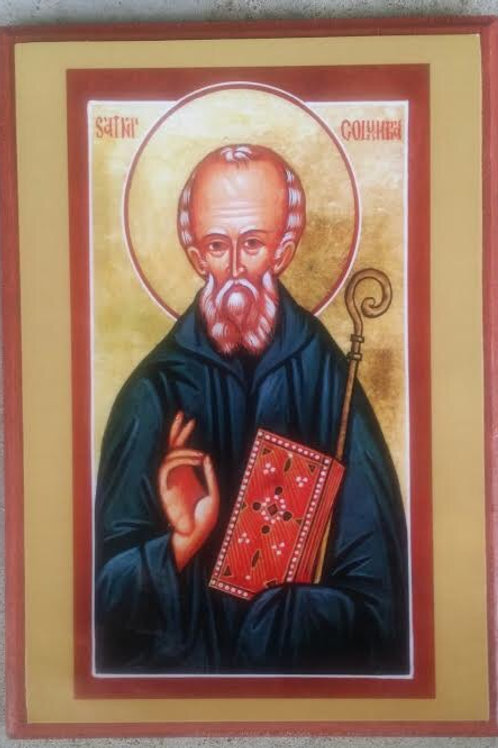Saint Columba Icon