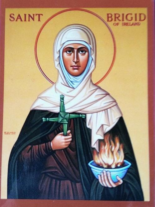 Saint Brigid Icon