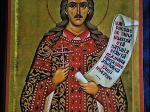 Saint Stephen The Great of Moldova Icon