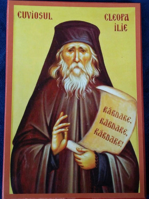 Elder Cleopa of Romania Icon