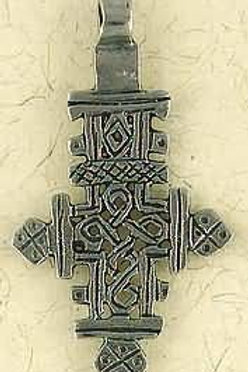 Ethiopian Orthodox Christian Cross Necklace