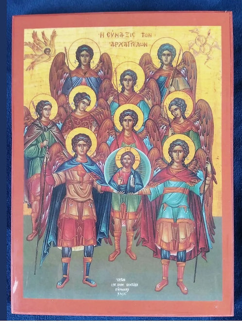 Synaxis of Archangels Icon