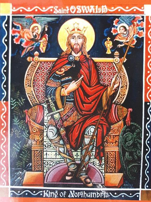 Saint Oswald King of Northumbria