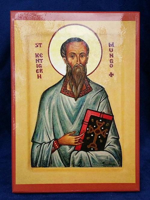 Saint Kentigern [MUNGO] Icon
