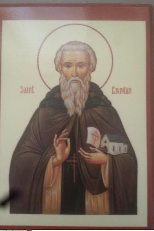 Saint Brendan Iconx Icon