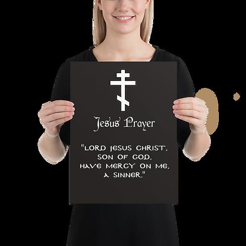 "Jesus Prayer Poster 18"" x 24"""