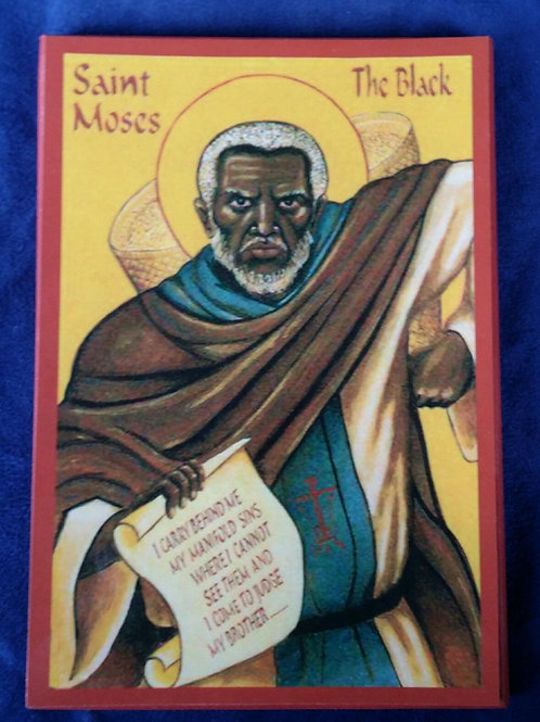 Moses The Black Icon