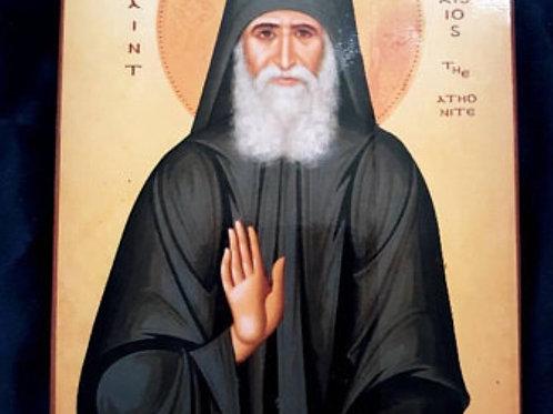 Icon of Saint Paisios the Athonite