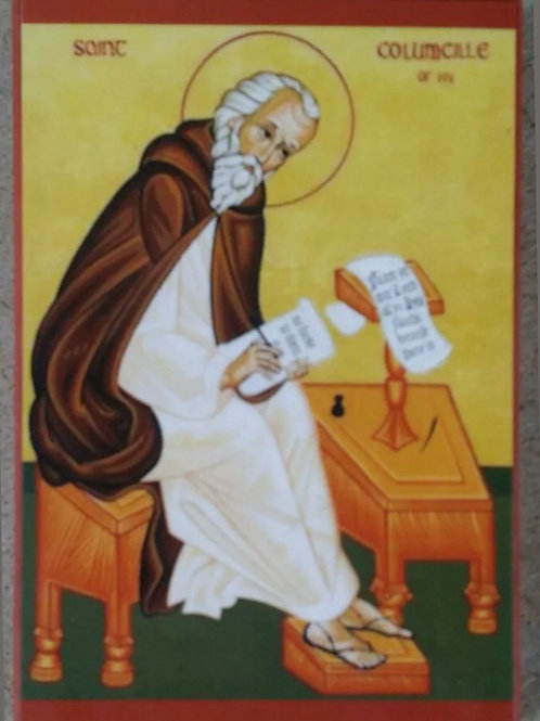 St. Columba Icon