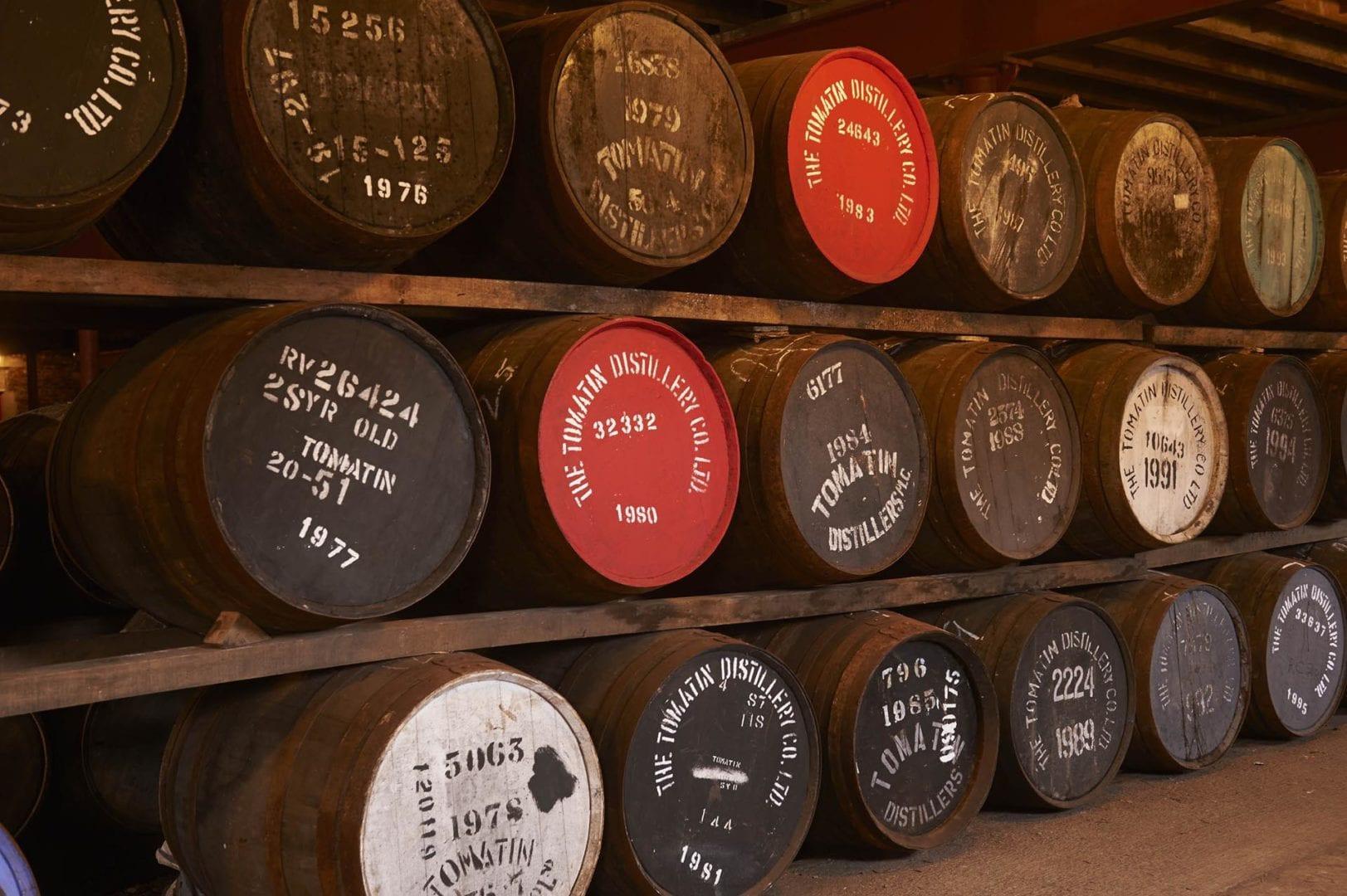 Tomatin Whisky Barrels.jpg